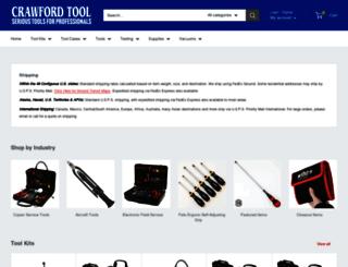 crawfordtool.com screenshot