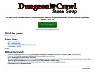 crawl.develz.org screenshot