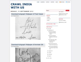 crawlindia.blogspot.in screenshot