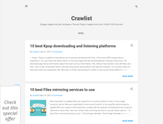 crawlist.blogspot.in screenshot