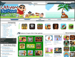 crayonshinchangames.com screenshot
