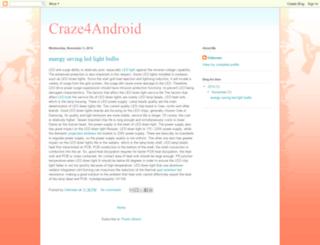 craze4android-2.blogspot.com screenshot