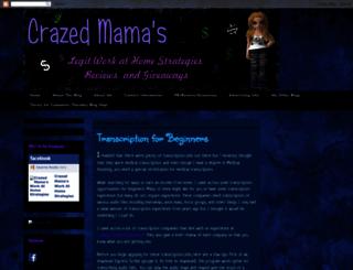 crazedmama.blogspot.com screenshot