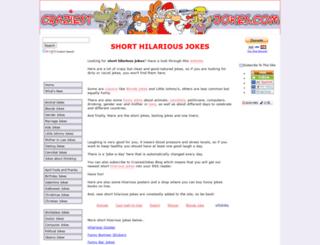 craziestjokes.com screenshot
