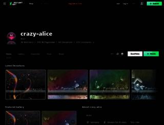crazy-alice.deviantart.com screenshot