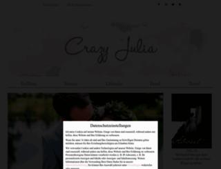 crazy-julia.de screenshot