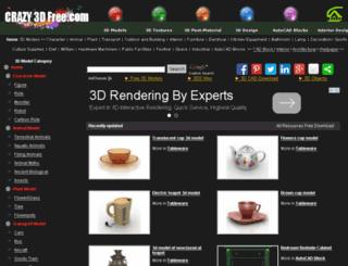 crazy3dsmax.com screenshot
