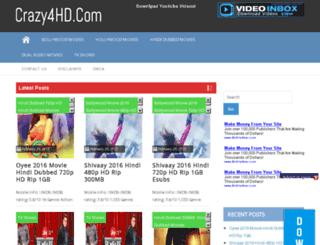 crazy4hd.com screenshot