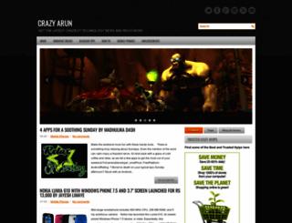 crazyarunc.blogspot.com screenshot