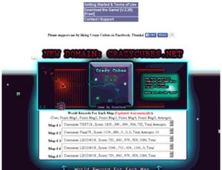 crazycubes.co.nf screenshot