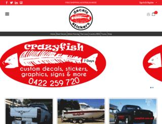 crazyfish.com.au screenshot