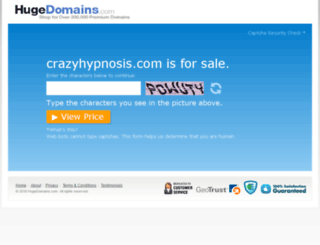 crazyhypnosis.com screenshot