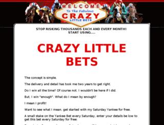 crazylittlebets.com screenshot