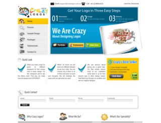 crazylogos.com.au screenshot