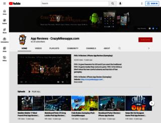 crazymikesapps.com screenshot