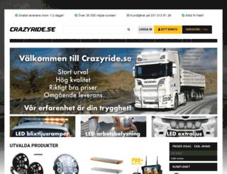 crazyride.se screenshot