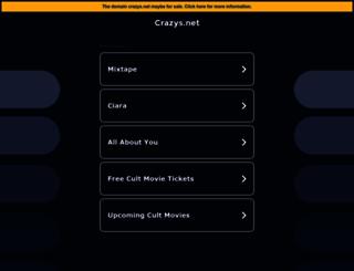 crazys.net screenshot