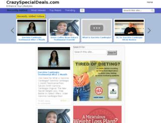 crazyspecialdeals.com screenshot