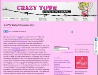crazytownmayor.com screenshot
