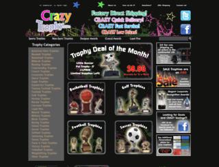 crazytrophy.com screenshot