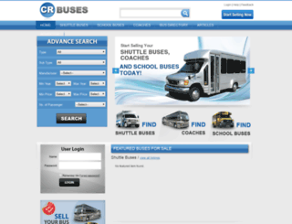 crbuses.com screenshot
