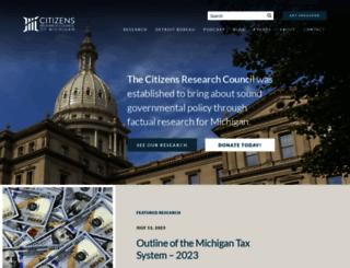 crcmich.org screenshot