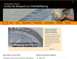 crcw.princeton.edu screenshot