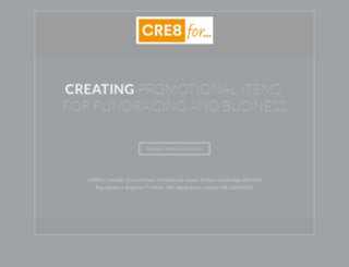 cre8for.com screenshot