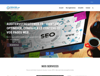 creaciel.com screenshot