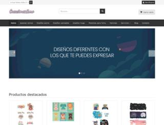 creacionesamo.com screenshot