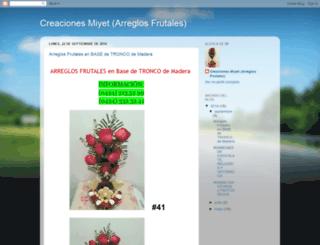 creacionesmiyet.blogspot.com screenshot