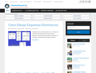creacionliteraria.net screenshot