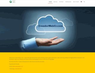 creadorwebcr.com screenshot