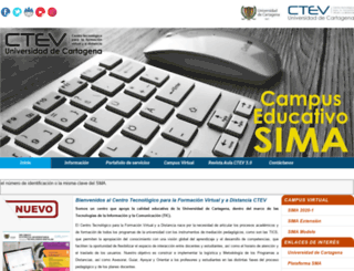 creadunicartagena.edu.co screenshot