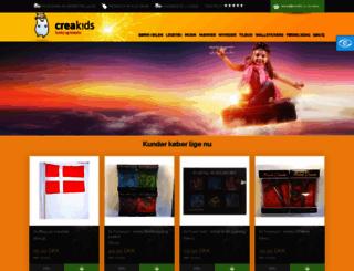 creakids.dk screenshot
