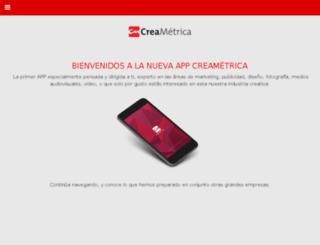 creametrica-ra.com screenshot