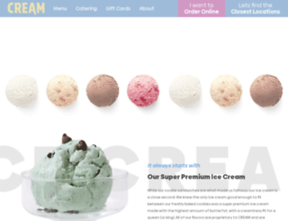 creamnation.com screenshot