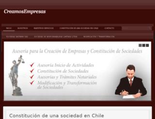 creamosempresas.cl screenshot