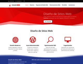 creamosweb.net screenshot