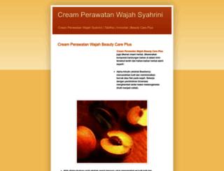 creamperawatanwajahsyahrini.blogspot.com screenshot
