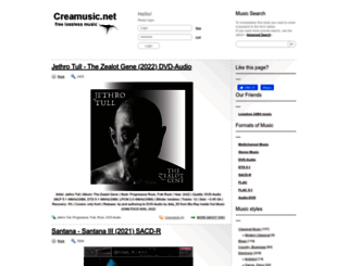 creamusic.net screenshot