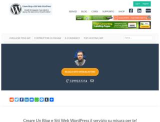 creareblogsitiwp.com screenshot