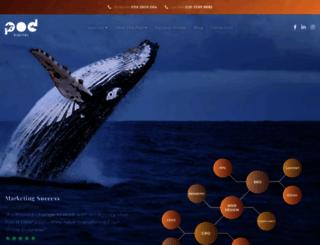 crearecommunications.co.uk screenshot