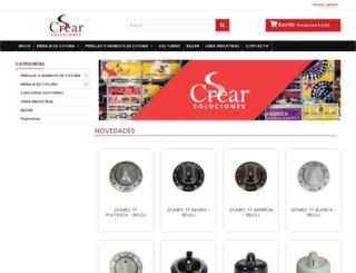 crearsoluciones.com screenshot