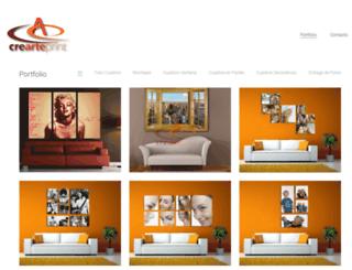 crearteprint.com.ar screenshot