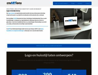 creartions.nl screenshot