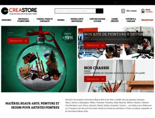 creastore.com screenshot