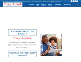 create-a-book.com screenshot
