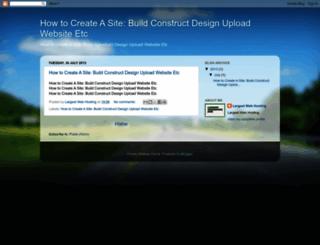 create-a-site.blogspot.com screenshot
