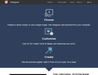 create.postrgram.com screenshot